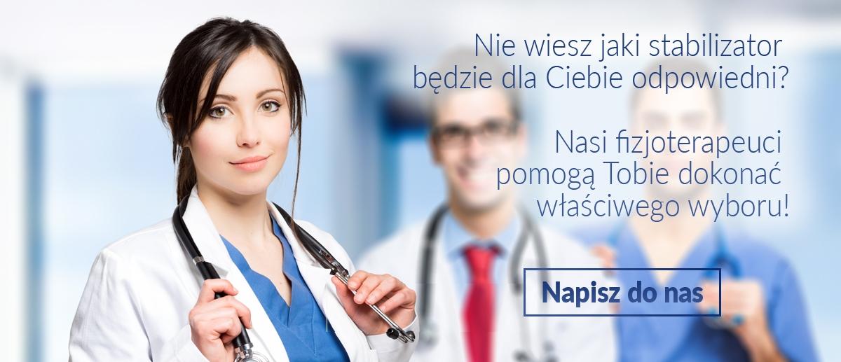 Nasi fizjoterapeuci pomogą Tobie dokonać właściwego wyboru