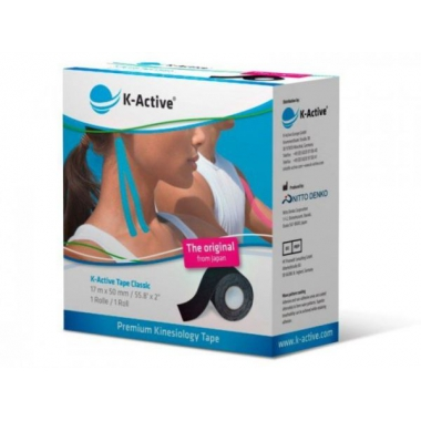 Taśma Kinesiology Tape 5Cm/17M K-Active