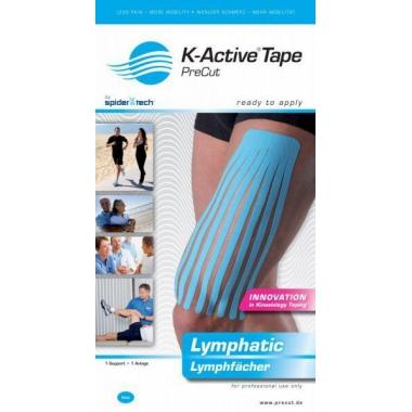 Kinesiology Tape Precut Limfatyczny K-Active