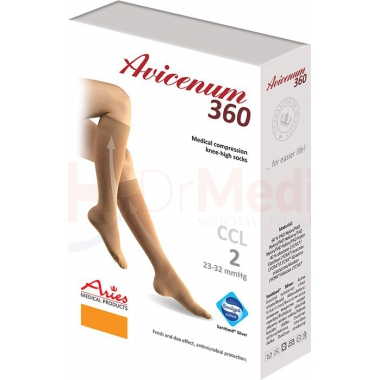 Podkolanówki 360 Den Aries